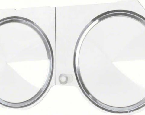 OER 1968 Camaro / Firebird without Console Gauges or Tachometer Dash Carrier Lens 6481576
