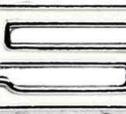 "OER 1968 Camaro SS ""350"" Fender Emblem, LH 3927485"