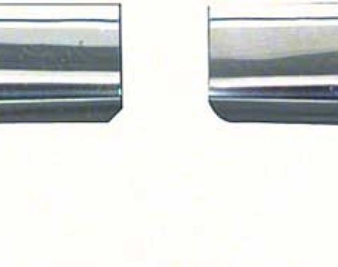 OER 1967-69 Camaro / Firebird Roof Drip Corner Moldings K731
