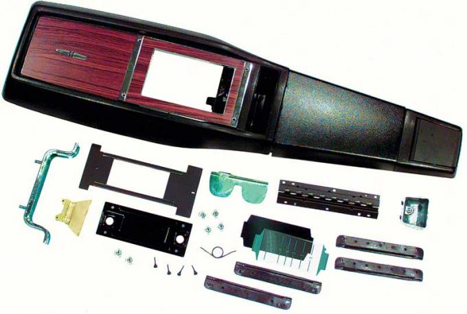 OER 1968 Camaro TH350 / TH400 Automatic Transmission Console Kit without Console Gauges *R751