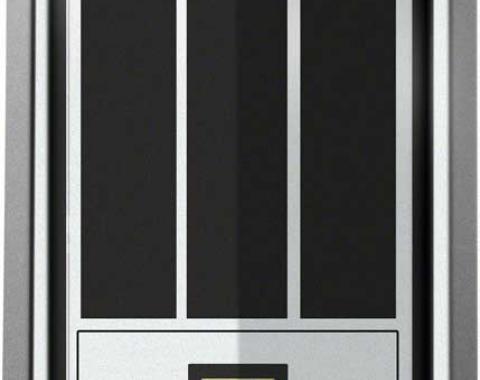 OER 1979 Camaro Z28 Black Fuel Door Emblem 9636429