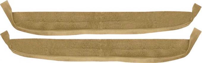 OER 1967 Camaro / Firebird Gold Loop Deluxe Door Panel Carpet K626705