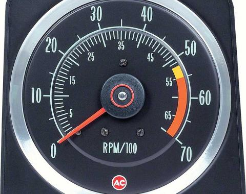 "OER 1969 Camaro 396/325 HP, 396/350 HP 5"" X 7"" Tach with 5500 Red Line 6469382"