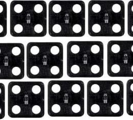 OER 1965-90 20 Piece Hood Insulation Fastener Kit *K3031