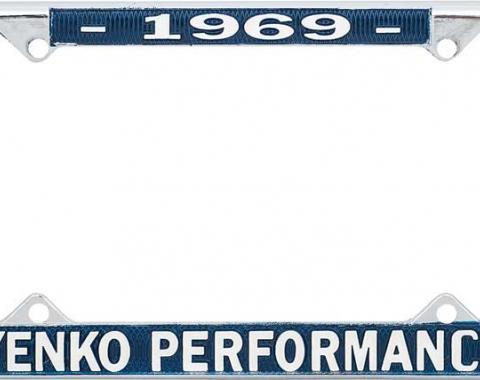 OER 1969 Yenko Performance License Frame YF1969