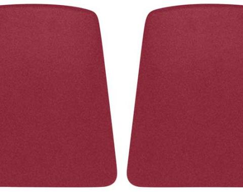 OER 1967-70 Camaro / Firebird Red Bucket Seat Back Panels K1031