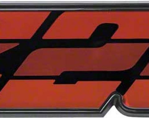 "OER 1980-81 Camaro Red ""Z28"" Grill Emblem 14024337"