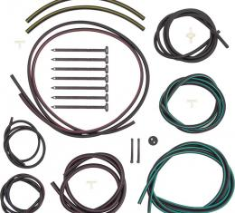 OER 1968 Camaro Rally Sport Headlight Hose Set with Color Hoses R2552