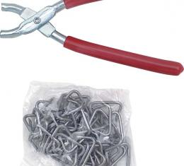 OER Upholstery Installation Kit - Pliers and Hog Rings *K10000