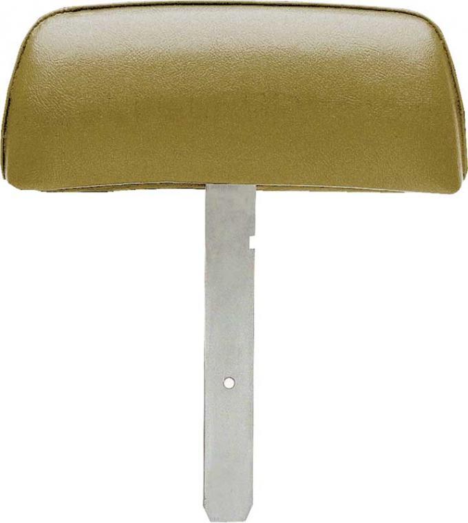 OER 1969 Firebird Gold Headrest Assemblies with Straight Bar K31036