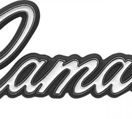 OER 1968 CAMARO Glove Box Door Emblem 3921874