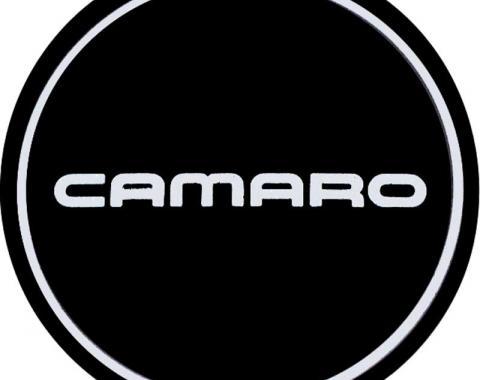 OER 1990 Camaro N90 Aluminum Wheel Center Cap Insert Camaro Logo Silver/Black 10087764