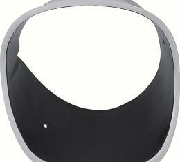 OER 1974-77 Camaro Z28 Headlamp Bezel with Black Finish - RH 333797