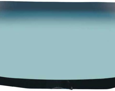 OER 1970-81 Camaro / Firebird Windshield Glass with Antenna - Light Green Tint With Blue/Green Shade FW785T