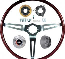 OER 1969 Camaro, Impala / Full Size, Nova with Tilt Wheel Rosewood Steering Wheel Kit *R6534