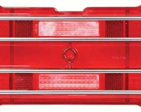 OER 1967-68 Firebird Tail Lamp Lens Assembly 5959716
