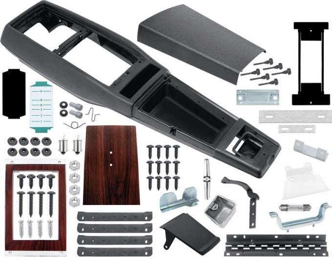 OER 1969 Camaro TH350 / TH400 Automatic Transmission Console Kit without Console Gauges *R755