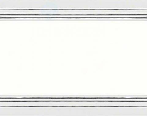 OER 1968-69 Side Marker Chrome Bezels K72