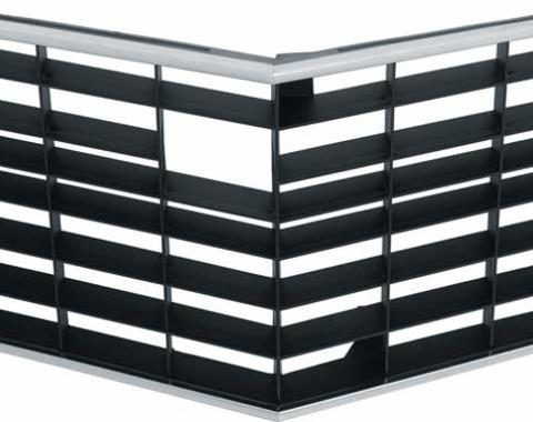 OER 1972-73 Standard Z/28 Black Center Grill 333724B