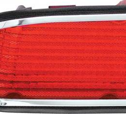 OER 1974-77 Camaro Tail Light Lens With Back-Up Lens - LH 5954137