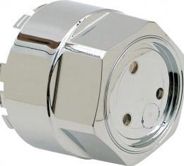 OER 1962-87 Alloy Wheel Center Cap for Zero Offset Aluminum Wheel - Chrome 10097582