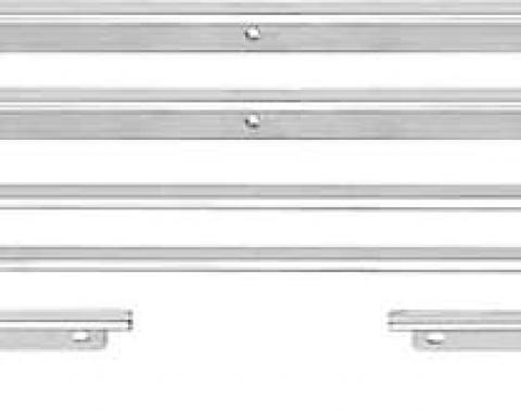 OER 1967 Camaro / Firebird Coupe 8 Piece Standard Door Panel Molding Set R1100
