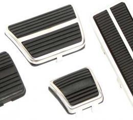 OER 1972-81 Camaro Pedal Pad Kit - Manual Trans - 8 Piece set *R5010
