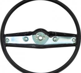 OER 1969-70 Steering Wheel - Black - Standard Interior 3939731