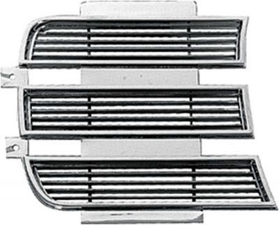OER 1969 Camaro Rally Sport Chrome Headlamp Door Trim, RH 3958006