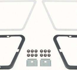 OER 1980-81 Camaro Z28 Fender Air Extractor Reinforcement Mounting Hardware Set K8080