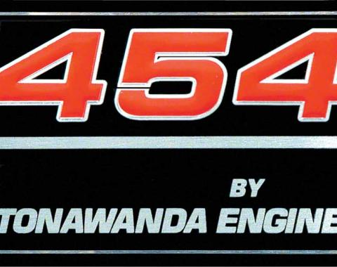 "OER 1991-96 ""454 By Tonawanda Engine"" Valve Cover Decal 10126790"