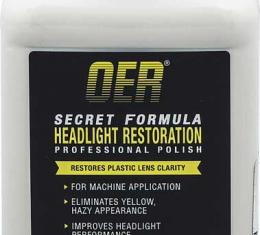 OER Secret Formula Headlight Restorer Professional Polish 12 Oz. K89628