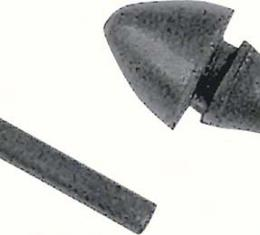 "OER 1947-91 Tapered Bullet Style Rubber Stoppers Fits 1/4"" Hole A4250"
