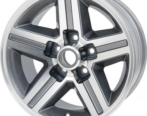 """OER 16"""" x 8"""" Front IROC-Z Style Aluminum Wheel 5 x 4-3/4"""" Bolt Pattern 4-1/4"""" Backspace - Each 14089081"""
