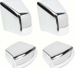 OER 1967-69 Camaro / Firebird 4 Piece Chrome Seat Knob Set *R455