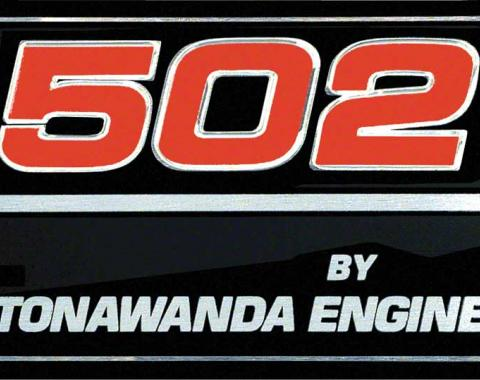 "OER 1991-96 ""502 By Tonawanda Engine"" Valve Cover Decal 10185091"