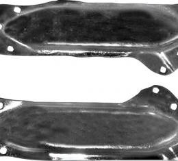 OER 1967-69 Camaro / Firebird Convertible B-Pillar Support Braces B1705