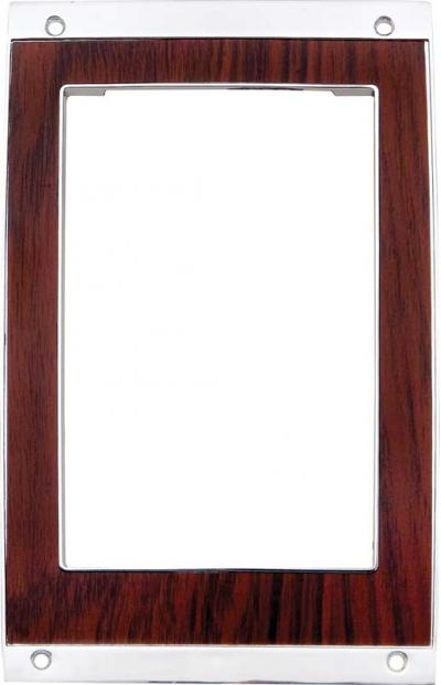 OER 1969 Camaro Automatic Transmission Cherrywood Console Shift Plate 3949591