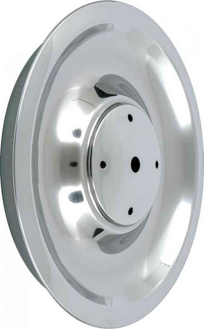 OER 1967 Reproduction Stainless Steel Rally Wheel Hub Cap Base WC3