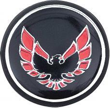 OER 1976-81 Firebird Shift Button Emblem-Black With Red K7802