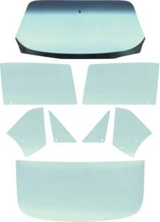 OER 1967 Camaro / Firebird Coupe 8 Piece Tinted Glass Kit *E350T