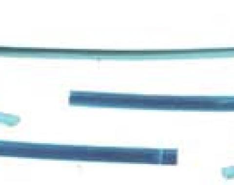 OER 1967-69 Camaro / Firebird Convertible 5 Piece Windshield Molding Set C2361
