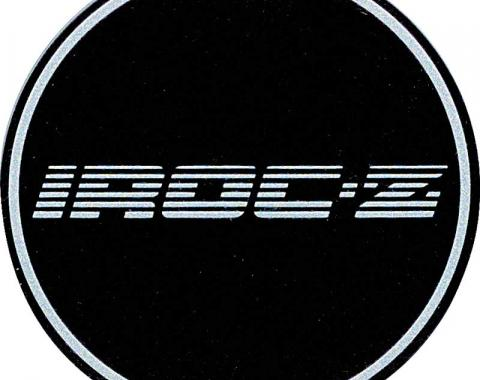 OER 1988 Camaro Aluminum Wheel Center Cap Insert Emblem - IROC-Z Silver 10087758
