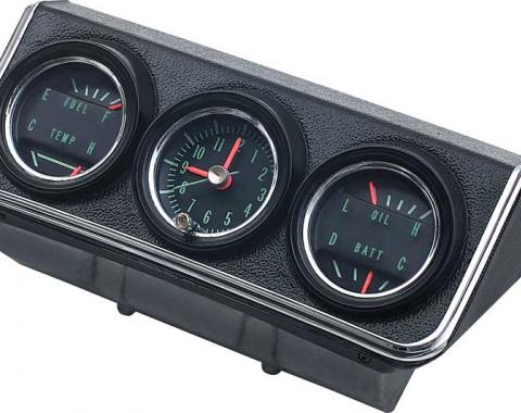 OER 1967 Camaro / Firebird Console Gauges Assembly 3952637