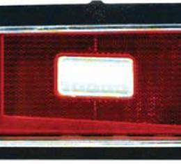 OER 1969 Camaro Standard Tail Light Lens, LH 5961567