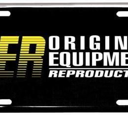 OER Original Equipment Reproduction License Plate OER29
