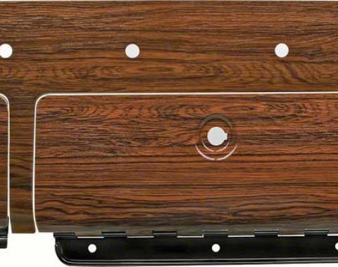 OER 1969 Camaro Cherrywood Wood Grain Dash Set K153