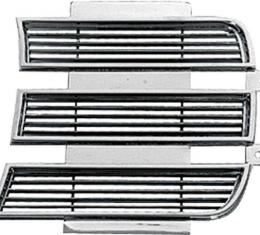 OER 1969 Camaro Rally Sport Chrome Headlamp Door Trim, LH 3958005