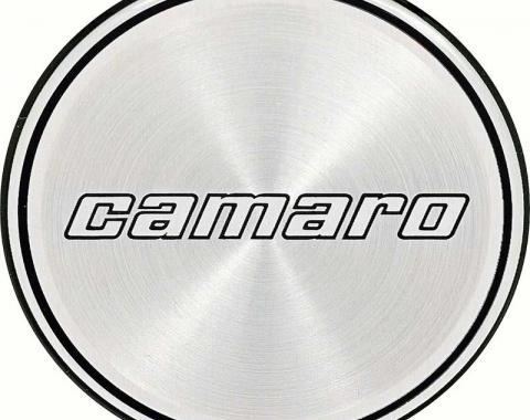 OER 1980 Camaro Hub Cap Insert Emblem - 2 Black Lines - 2nd Design 14023358
