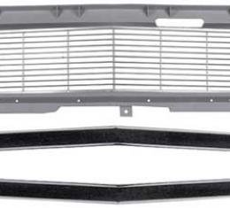 OER 1968 Camaro Restorer's Choice™ Standard Grill Kit with Headlamp Bezels *R5026C